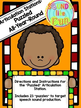 Articulation Station: Puzzled All-Year-Round