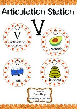 Articulation Station, V!