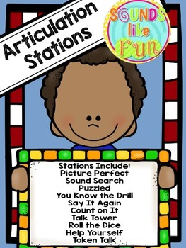Articulation Stations: Independent Activities for Speech Sound Production