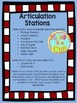 Articulation Stations: Independent Activities for Speech S