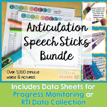 Articulation Speech Sticks Bundle