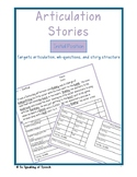 Articulation Stories - Initial Position