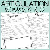 K and G Articulation Stories with Language Component
