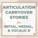 Articulation Stories Speech Therapy R Sound/Phoneme BUNDLE