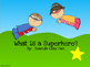 """Articulation Story & Activities for /R/:  """"What is a Superhero"""" Book"""