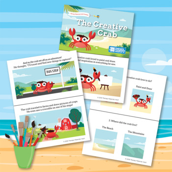 Articulation Story Collection: Fred the Frog & The Creative Crab