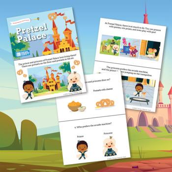 Articulation Story Collection: /r/ Blends – Pretzel Palace & Bruce the Brave