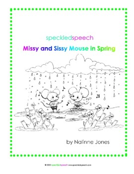 Articulation Story - S - All Positions - Spring Themed - Reading - Phonics