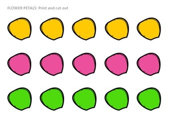 Articulation Syllable Level FLOWERS Activity