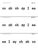 Articulation Syllable Slider