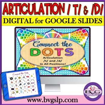 Articulation T and D in All Positions Connect the Dots