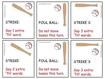 Articulation TH- Baseball Game