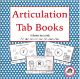 "Speech Articulation Carryover ""Tab Books"""