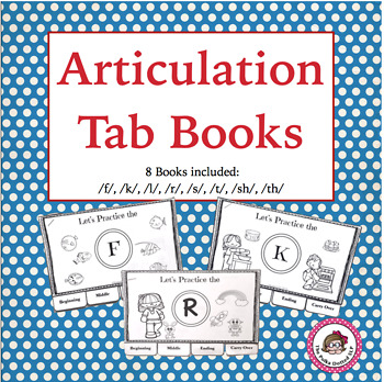 Articulation Tab Books