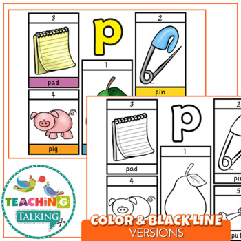 """Articulation """"Take Home"""" Flipbooks - Early Sounds"""