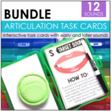 Articulation Task Cards Bundle | Speech Therapy Task Cards