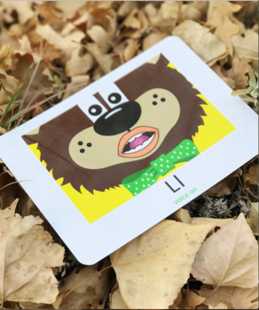 Articulation:Teddy Talker Mouth Position Cards w Reinf. Rhymes 5x7Laminated