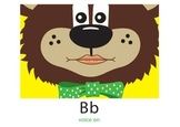 Speech Sounds:Teddy Talker Mouth Position Cards w Reinf. Rhymes 5x7Laminated