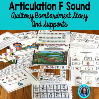 Articulation: The F sound Auditory Bombardment Story and