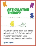 Articulation Therapy