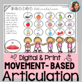 Articulation Therapy | No Print Speech Therapy | Speech and Language Worksheets