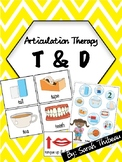 Articulation Therapy: /t/ and /d/