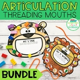 Articulation Threading Mouths - All Sounds BUNDLE