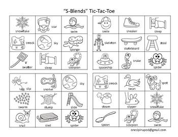 Articulation Tic-Tac-Toe