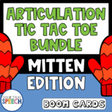 Articulation Tic Tac Toe Boom Cards | Speech Therapy