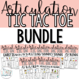 Articulation Game- Tic Tac Toe for all sounds- Money Savin
