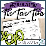 Articulation Tic-Tac-Toe Set