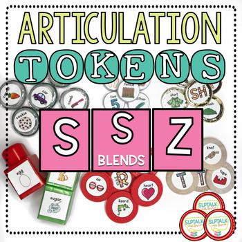 Articulation Tokens - S, Z, and S Blends