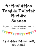 Articulation Tongue Twister Scenes