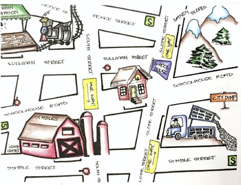 Articulation Town Maps