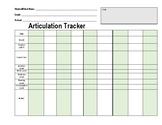 Articulation Tracker