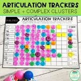 Articulation Trackers - Simple & Complex Clusters