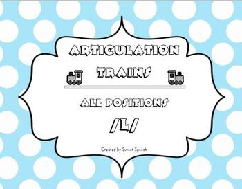 /l/ Articulation Trains - Freebie!