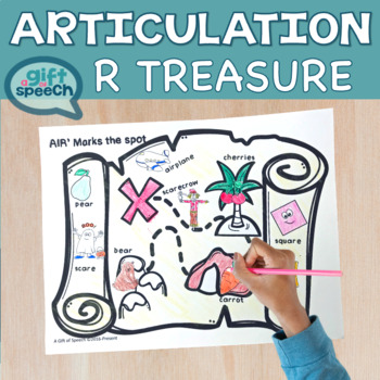 Articulation Treasure Hunt for vocalic r's