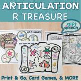 Articulation vocalic r Treasure Hunt