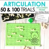 Articulation Trials for Halloween: 50 & 100 FREEBIE!