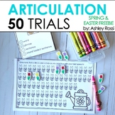 Articulation Trials for Spring: 50 Challenge