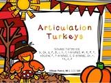 Articulation Turkeys