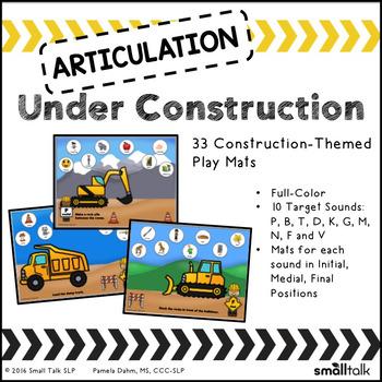 Articulation Under Construction