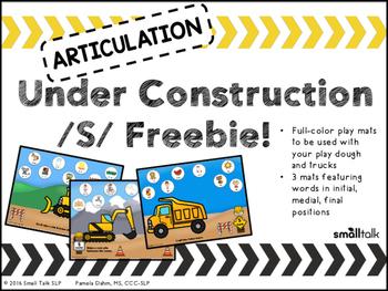 Articulation Under Construction - /S/ Freebie