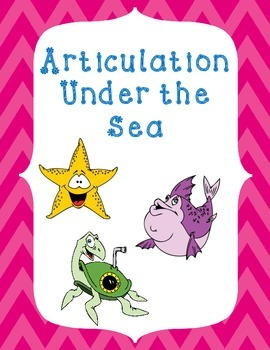 Articulation Under the Sea