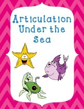 Articulation Under the Sea