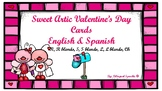 Articulation Valentine's Day Cards- Spanish & English!!!