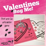 Articulation Print and Go: Valentines Bug Me