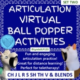 Articulation Virtual Ball Popper SET TWO Interactive PowerPoint