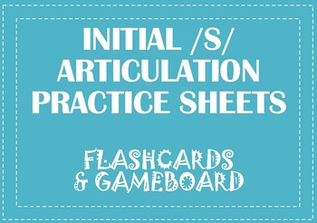 Articulation Visual Cards and Game Board - FREEBIE!